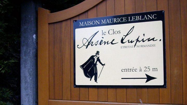 Etretat, clos Lupin en Normandie