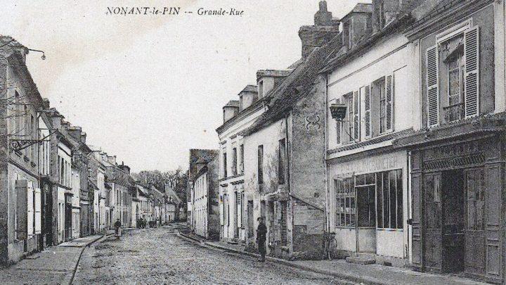 Nonant-le-Pin-Grande-Rue-Normandie