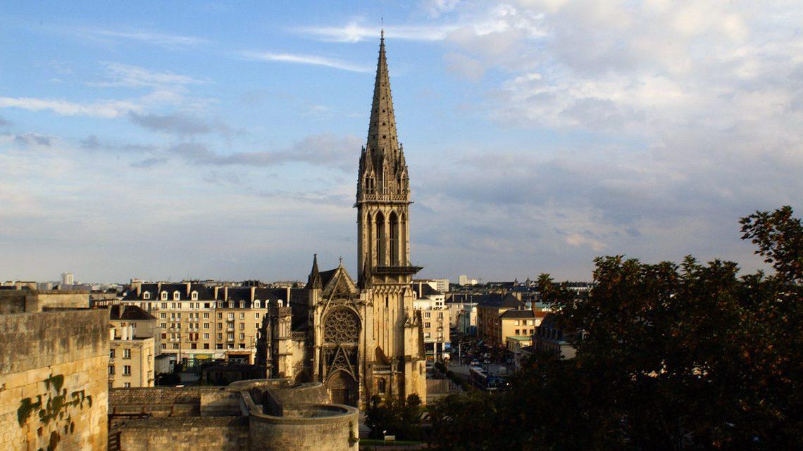 la Ville de Caen avec Guideinnormandy.com